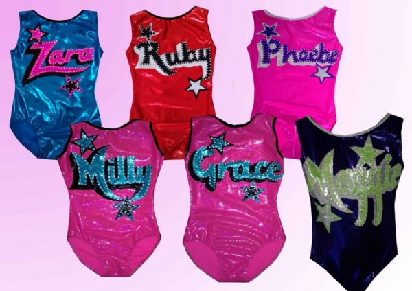 Personalised Leotard  FROM  £38
